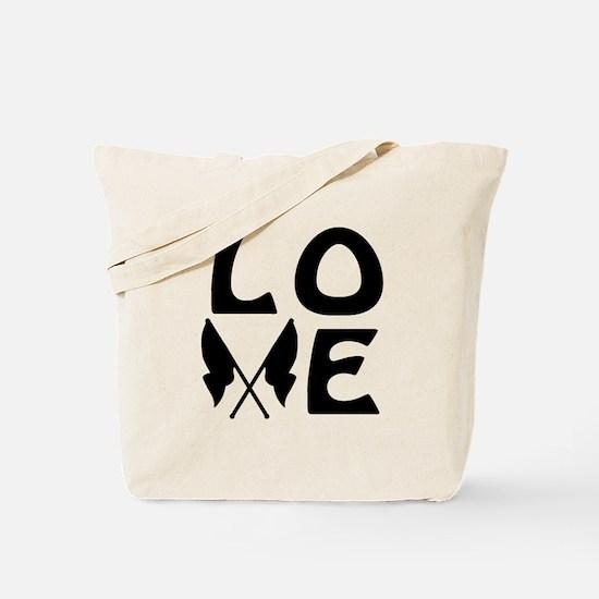 Color Guard LOVE Tote Bag