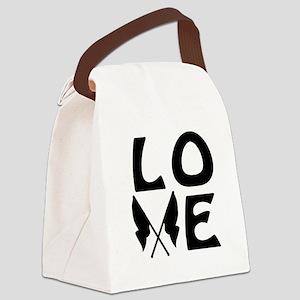 Color Guard LOVE Canvas Lunch Bag