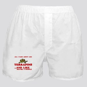 All I care about are Terrapins Boxer Shorts