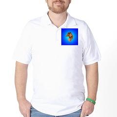 Long Coated Dachshund Profile Golf Shirt