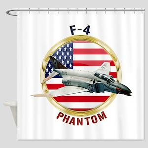 F-4 Phantom Shower Curtain
