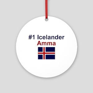 Iceland #1 Amma Keepsake Ornament