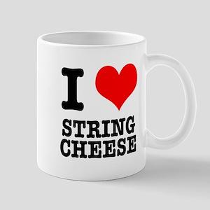 I Heart (Love) String Cheese Mug