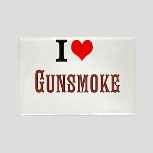 I Love Gunsmoke Magnets