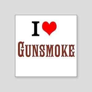 I Love Gunsmoke Sticker