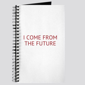 I COME FROM THE FUTURE Journal