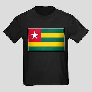 Togo Flag Kids Dark T-Shirt