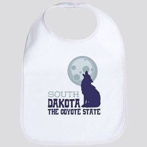 SOUTH DAKOTA THE COYOTE STATE Bib
