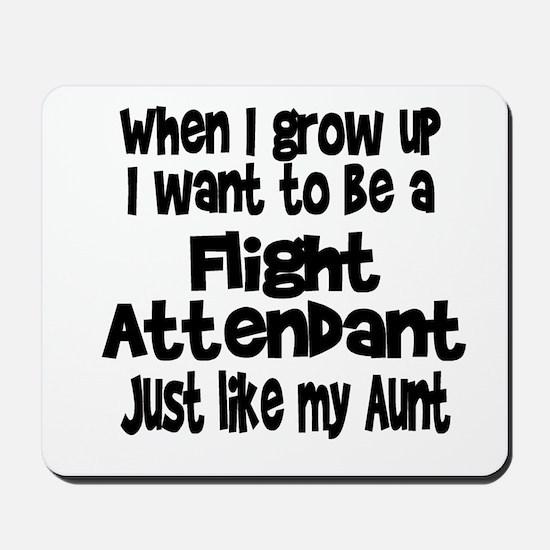 WIGU Flight Attendant Aunt Mousepad