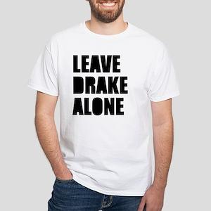 Leave Drake Alone White T-Shirt