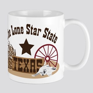 The Lone Star State TEXAS Mugs