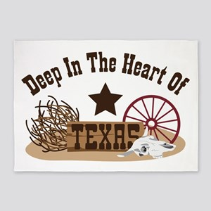 Deep In The Heart Of TEXAS 5'x7'Area Rug