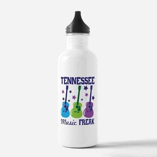 TENNEESSEE Music FREAK Water Bottle