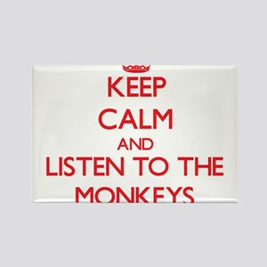 Keep calm and listen to the Monkeys Magnets