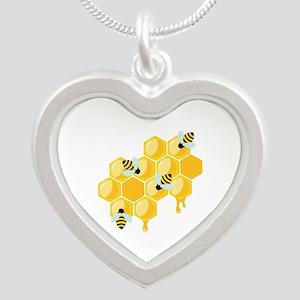 Honey Beehive Necklaces