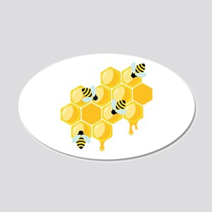 Honey Beehive Wall Decal