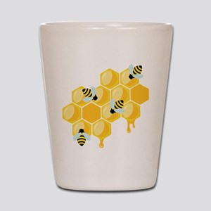 Honey Beehive Shot Glass
