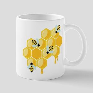 Honey Beehive Mugs