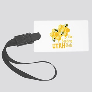 The Beehive State UTAH Luggage Tag