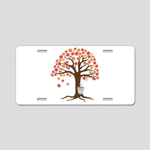Maple Syrup Tree Aluminum License Plate