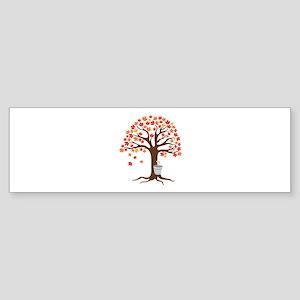 Maple Syrup Tree Bumper Sticker
