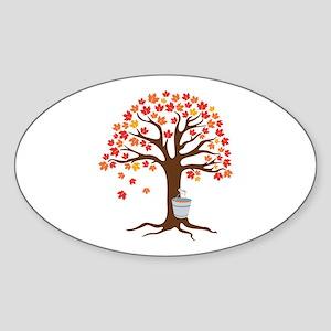 Maple Syrup Tree Sticker