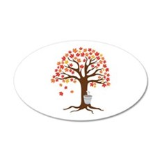 Maple Syrup Tree Wall Decal