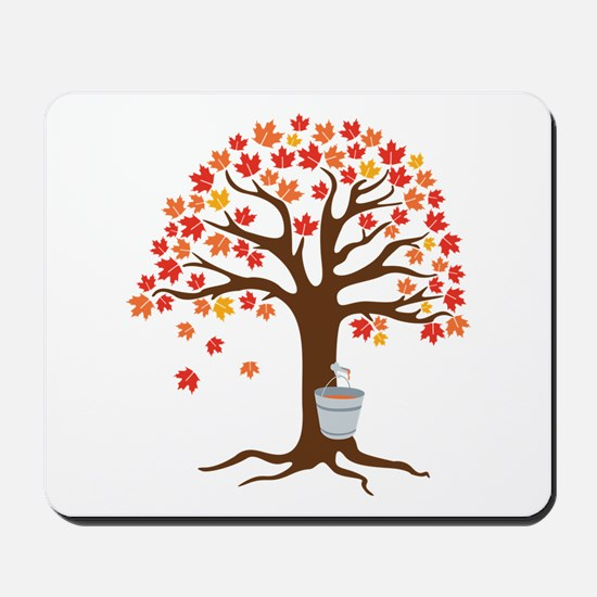 Maple Syrup Tree Mousepad
