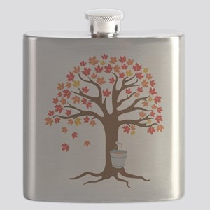 Maple Syrup Tree Flask