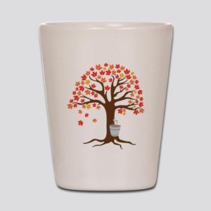 Maple Syrup Tree Shot Glass