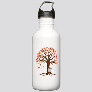 Maple Syrup Tree Water Bottle