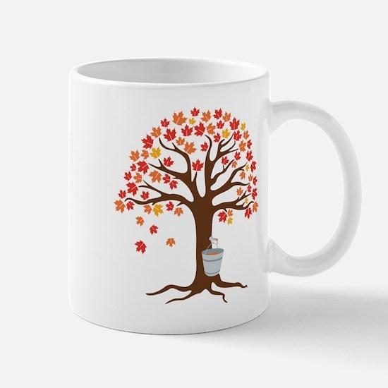 Maple Syrup Tree Mugs