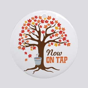Now ON TAP Ornament (Round)