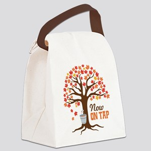 Now ON TAP Canvas Lunch Bag