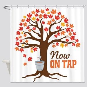 Now ON TAP Shower Curtain