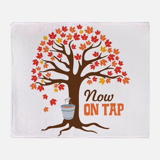Now ON TAP Throw Blanket