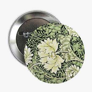 """Morris - Chrysanthemum 2.25"""" Button"""