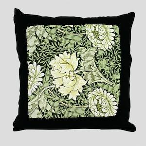 Morris - Chrysanthemum Throw Pillow