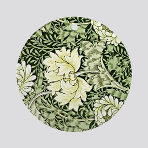 Morris - Chrysanthemum Round Ornament