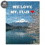 We Love Mt. Fuji Puzzle