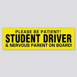 Student Driver And Parent (bumper) Bumper Sticker
