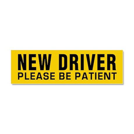 New Driver - Be Patient Car Magnet 10 X 3