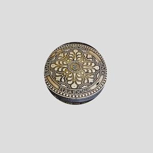 manhole covers, budapest, Mini Button
