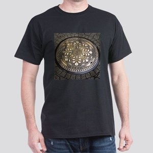 manhole covers, budapest, T-Shirt
