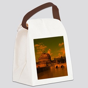 rom dramatic light Canvas Lunch Bag