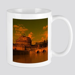 rom dramatic light Mugs