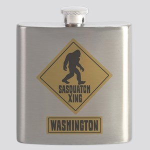 SASQUATCH CROSSING WASHINGTON Flask