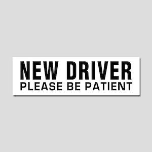 New Driver Car Magnet 10 X 3