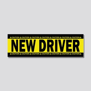 New Driver! Caution! Car Magnet 10 X 3
