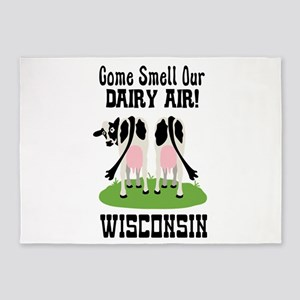 Come Smell Our DAIRY AIR! 5'x7'Area Rug